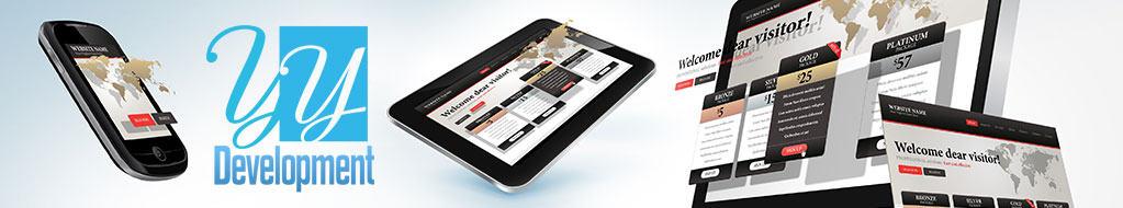 שירותי בנייה ועיצוב של אתר תדמית באמצעות HTML