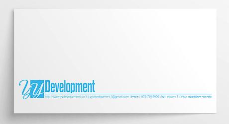 עיצוב מעטפה ל-YYDevelopment