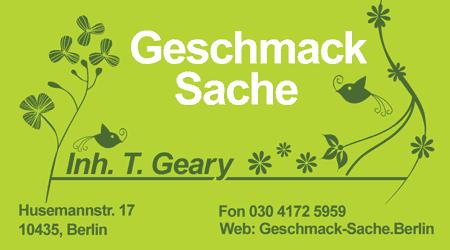 עיצוב כרטיס ביקור ל-Geary