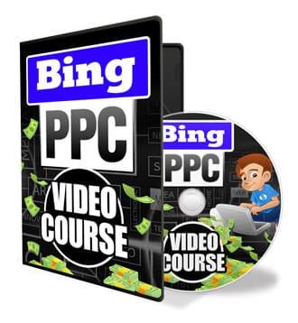 עיצוב DVD לקידום ממומן באתר BING
