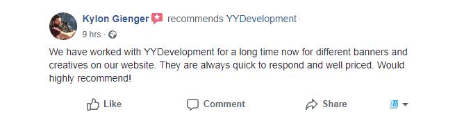 ביקורת בפייסבוק של Kylon