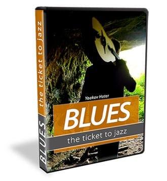 עיצוב DVD ללימוד Blues