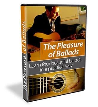 עיצוב של DVD לימוד גיטרה