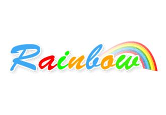 לוגו לדוגמא לאתר Rainbow עיצוב פנים
