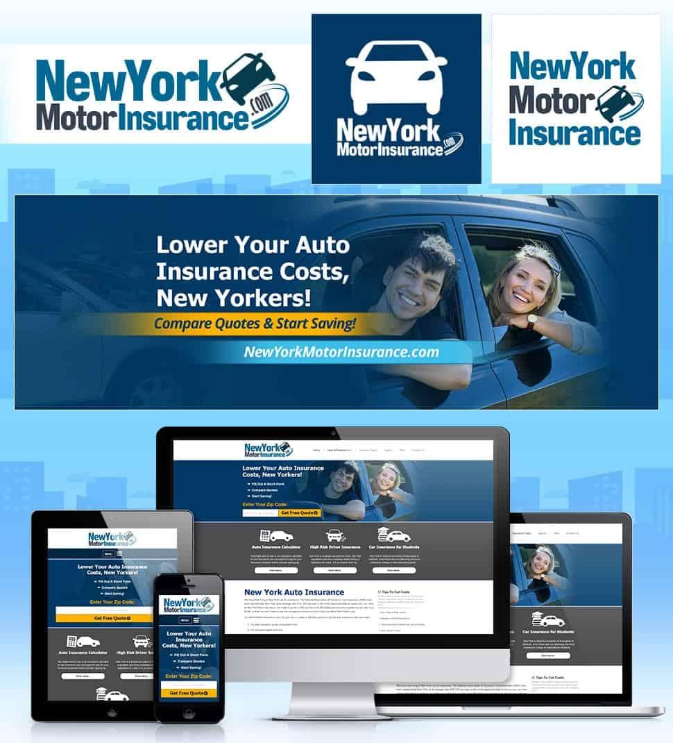 דוגמא למיתוג לעסק של ביטוח לרכב