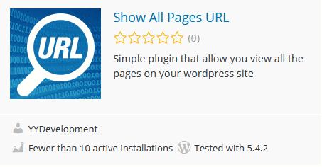 תוסף להצגת כתובות URL ו-ID של עמודים