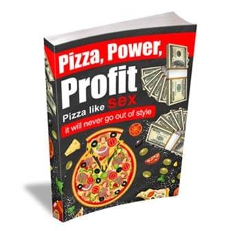 עיצוב Ebook בנושא פיצה וכסף