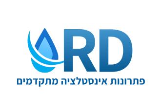 לוגו מעוצב לחברת אינסטלציה